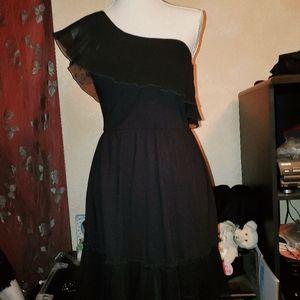 Lil Black Dress/Cover-up